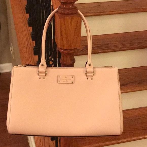kate spade Handbags - ♠️ Kate Spade Wellesley Elena Leather Satchel ♠️